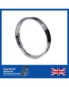 18 x 2.15 Morad Valanced Rim Fits- Moto Guzzi T3 California Rear Disc