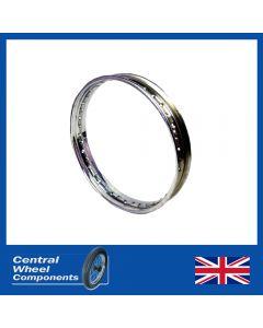 BSA Stainless Steel Wheel Rim -  B25, A50, B50 & A65 Conical Rear 18 x 2.15