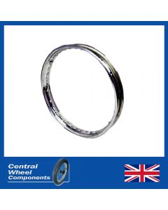 Stainless Polished Wheel BSA Rim - C15 - Front / Rear (17inchWM2)