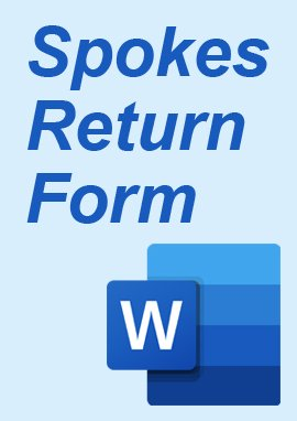 Spoke Returns Form