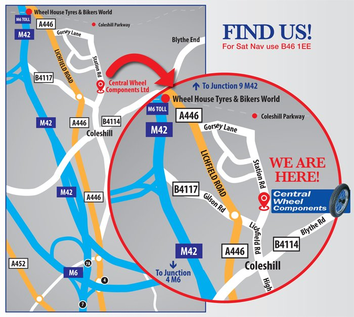 Find Us Map